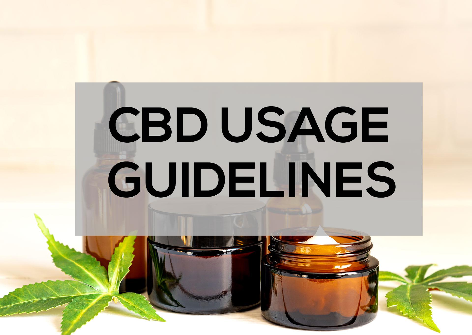 CBD-Usage-Guidelines