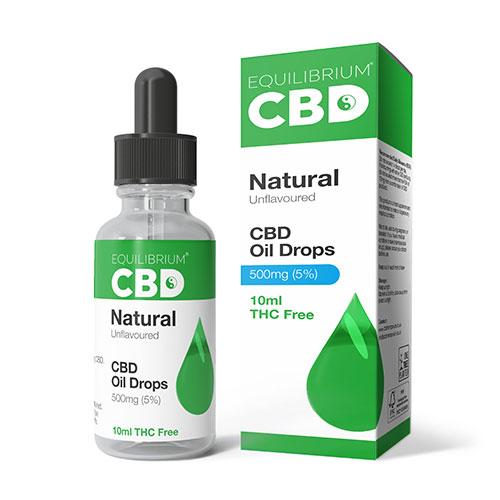 CBD Oil Natural 500mg